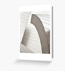 Disney Concert Hall Architecture II Greeting Card