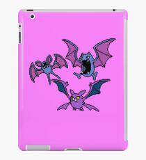 Zubat. Golbat and Crobat iPad Case/Skin