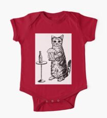 Real Cat Love Beer Kids Clothes