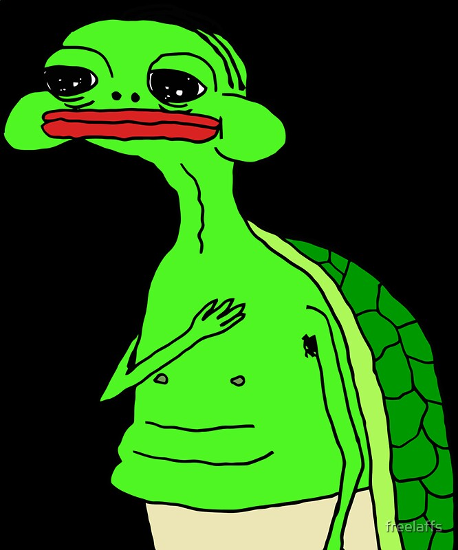 Quot Pepe The Sad Turtle Not The Smug Frog This Time