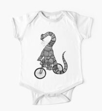Brontosaurus Love Pipe  One Piece - Short Sleeve