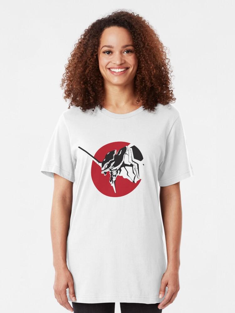 Vista alternativa de Camiseta ajustada Eva grita
