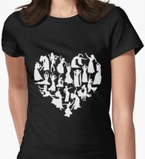 Belly Dance Heart Tshirt T-Shirt
