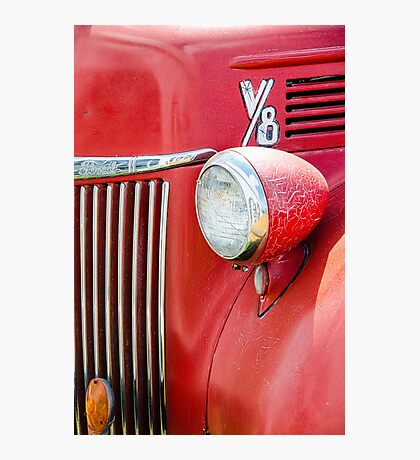 1944 Ford Pickup - Headlight Photographic Print