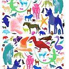 Animal Sampler by fairwood63