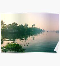 Backwaters Keral Poster