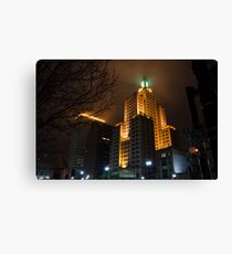 """""""Superman Building"""" Downtown Providence Canvas Print"""