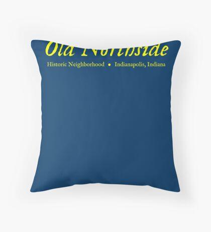 Old Northside Neighborhood Shirt Throw Pillow