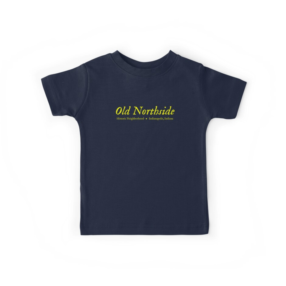 Old Northside Neighborhood Shirt by Hawthorn Mineart
