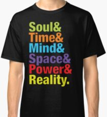Infinity Gems - Soul& Time& Mind& Space& Power& Reality. Classic T-Shirt