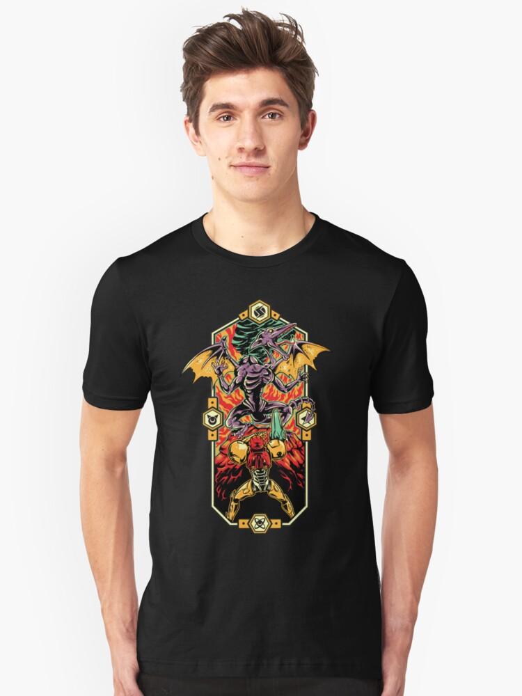 Epic Super Metroid Unisex T-Shirt Front