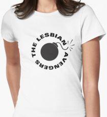 Lesbian Avengers Womens Fitted T-Shirt