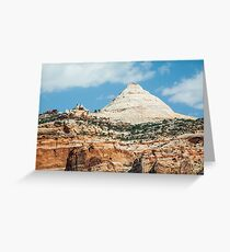 Capitol Dome at Capitol Reef Greeting Card