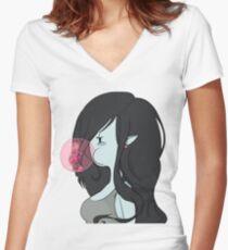 Marceline Women's Fitted V-Neck T-Shirt