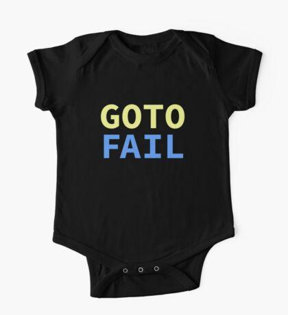 GOTO FAIL Kids Clothes