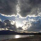 Howrah Beach sunrays - Hobart, Tasmania, Australia by PC1134