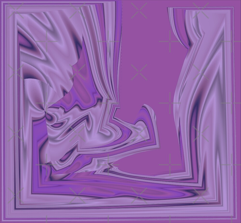 Purple Abstract by angelandspot