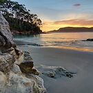 HDR of Adventure Bay Beach , Bruny Island, Tasmania, Australia by PC1134