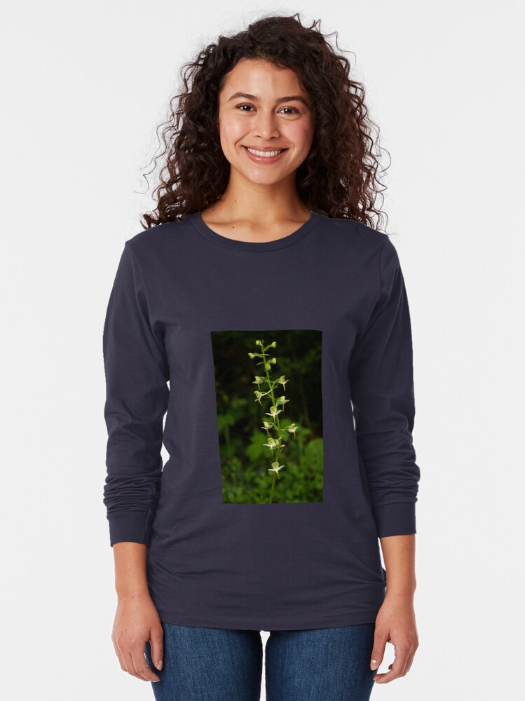 Alternate view of The surprising beauty of Greater Butterfly-orchid Long Sleeve T-Shirt
