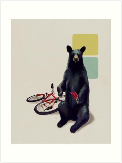 Summer Bear by Rebecca Flaum