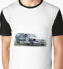 Volvo 850 Wagon Race Car TWR BTCC Graphic T-Shirt