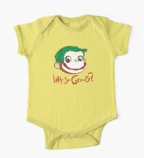 Why So Curious? One Piece - Short Sleeve