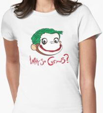 Why So Curious? Women's Fitted T-Shirt