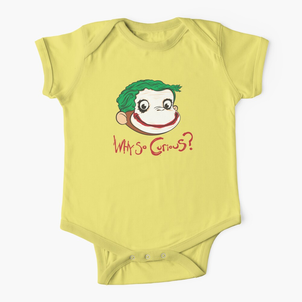 Why So Curious? Baby One-Piece
