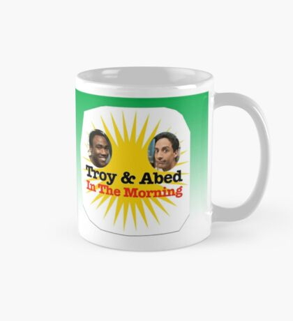 Community Troy and Abed in the Morning Mug