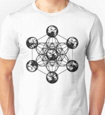 Metatron Cube Vintage Unisex T-Shirt