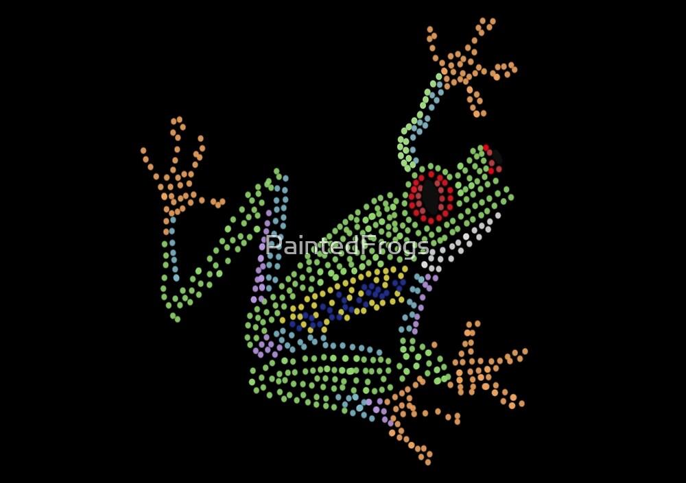 Tree Frog Pop Art by PaintedFrogs