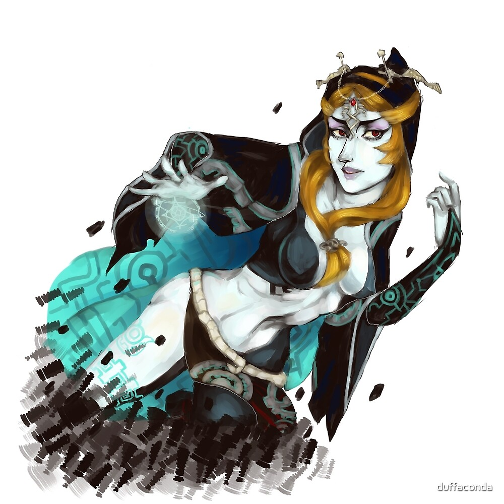 Midna from Twilight Princess by duffaconda