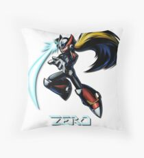 Zero- Maverick Hunter Throw Pillow