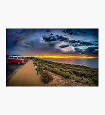 Surfer Sunrise, Bells Beach Photographic Print