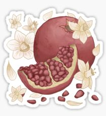 Narcissus and pomegranate Sticker