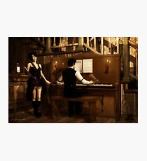 Saloon Serenade Photographic Print