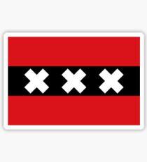 Flag of Amsterdam Sticker