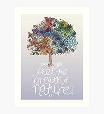 SEASONAL TREE Art Print