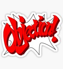 OBJECTION! Sticker