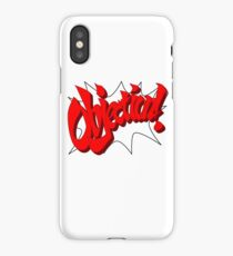OBJECTION! iPhone Case