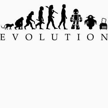 Human evolution towards machines by tinram