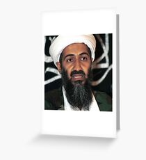 osama bun laden edgy shirt Greeting Card