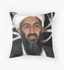 osama bun laden edgy shirt Throw Pillow