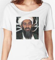 osama bun laden edgy shirt Women's Relaxed Fit T-Shirt