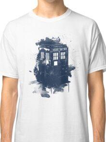 splatter tardis Classic T-Shirt