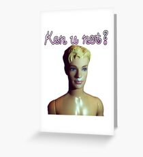 Ken u not? Greeting Card