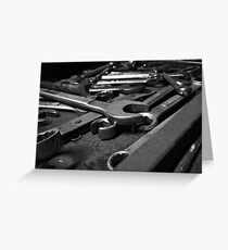 Wrenches Greeting Card