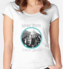 MINAS TIRITH PUBLIC LIBRARY Women's Fitted Scoop T-Shirt