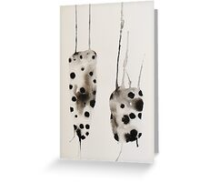 Untitled Abstract Study 5 Greeting Card