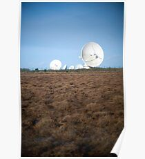 Goonhilly Earth Satellite Station Poster